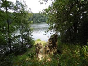 Blick auf den Trebuser See